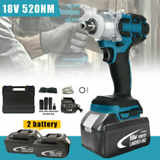 12 Cordless Electric Impact Wrench Rattle Nut Gun For 7800 Li Ion Batteryled