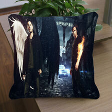 """pillow case Supernatural Angel size 20''x20"""" two side"""