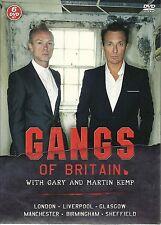 GANGS OF BRITAIN WITH GARY & MARTIN KEMP 6 DVD BOX SET LONDON GLASGOW BIRMINGHAM
