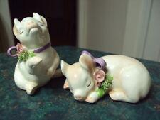 New Listing2 Lefton Vintage 1992 Little Piglets Figurines by Geo. Z Lefton