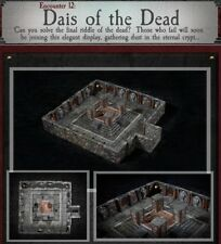 Dwarven Forge DAIS OF THE DEAD Dungeons of Doom 2018 w/Painted-Magnets D&D Tiles