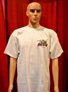 Vintage 1998 Kenny Bernstein Nascar Bud King Budweiser T Shirt   LN