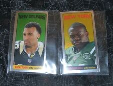 2012 TOPPS CHROME TALL BOY INSERT LOT OF TWO NICK TOON & STEPHEN HILL