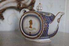 JAMES SADLER teapot THE GOLDEN JUBILEE OF HER MAGIESTY QUEEN 1952-2002
