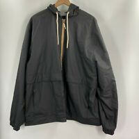 Weatherproof Original Mens Black Casual Lightweight Windbreaker Jacket Size XXL