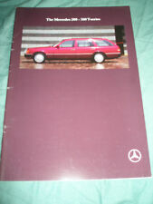 Mercedes 200-300 T Series brochure May 1990