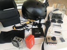 GoPro Hero 3 + Accessories And Helmet Go Pro
