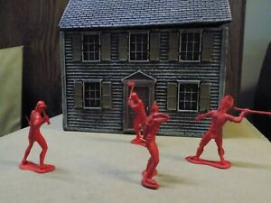 Auburn 1950's Figures Red Indians an Settlers