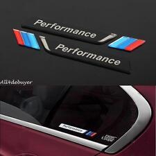 2pcs Acryl 3D Auto Schriftzug Autoscheiben Aufkleber Emblem für M Performance