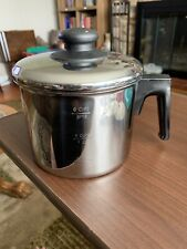 Stainless Steel 6 Cup/3 Pint Sauce Pan with Lid Unknown Maker