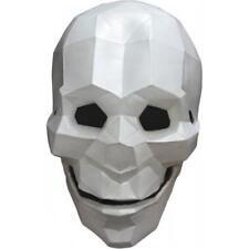 Poliéster Pop Art Esqueleto Calavera de Látex para Halloween Disfraz Adulto