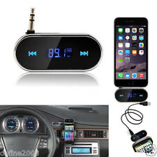 Hot Wireless Car Kit 3.5mm FM Transmitter MP3 Player USB SD LCD Remote Handsfree