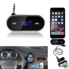 Wireless Car Kit 3.5mm FM Transmitter MP3 Player USB SD LCD Remote Handsfree
