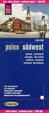 Reise Know-How Landkarte Polen, Südwest (1:360.000): world mapping project von P