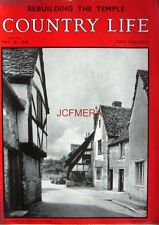 1948 'A CORNER OF LACOCK, WILTSHIRE' - Country Life Cover Photo Print