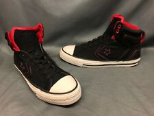 Converse Women's Star Player Plus Casual Sneakers Black Pink Size 9 NEW!