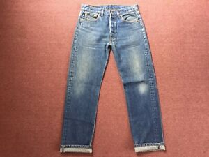 90s Vintage Levis 501XX Denim Jeans 32x30 Made in USA Button Fly 501 524 555