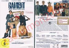 DVD GAMBIT EXTENDED VERSION Colin Firth Cameron Diaz Alan Rickman Region 2 NEW