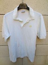 VINTAGE Polo ADIDAS coton Ventex shirt trikot 4 années 80 D 50 made in France