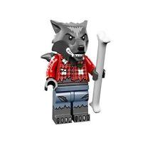 Lego Minifigura Serie 14 71010 Halloween Monstruos - Hombre Lobo
