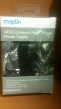 Maplin 40W Universal Auto Voltage Power Supply WITH 12 Tips - (NEW)