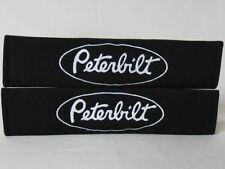Peterbilt Embroidery Car Seat Belt Shoulder Pads Pair