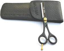 MAZUMA SALON THINNING SCISSORS/ J2 / BLACK LEFT HAND THINNING BLACK THINN L