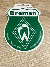 SV Werder Bremen Aufkleber Wappen Sticker Logo Bundesliga Fussball #416