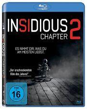 INSIDIOUS: CHAPTER 2 (Patrick Wilson, Rose Byrne) Blu-ray Disc NEU+OVP