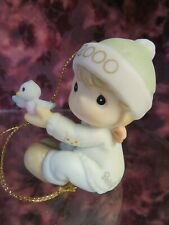 """Precious Moments-#730106 """"BABY'S FIRST CHRISTMAS 2000""""-  DATED 2000 Ornament-NIB"""