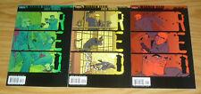 Warren Ellis' Red #1-3 VF/NM complete series - inspiration for bruce willis film
