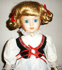 """1987 16"""" Ellis Island Statue of Liberty GERMANY MUSICAL """"Millicent"""" Doll"""