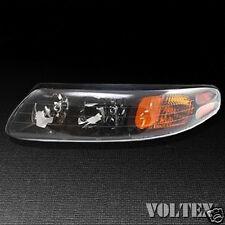 2000-2004 Pontiac Bonneville Headlight Lamp Clear lens Halogen Driver Left Side