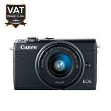 Canon EOS M100 DSLR 24.2MP with EF-M 15-45mm IS STM Lens - Black