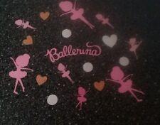 Ballerina confetti, girl,centerpiece,gender reveal, birthday party decorations,