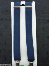 Bretelles bleus pour garçon de 2 à 16 ans