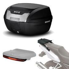 Kit fijacion y maleta baul trasero + luz de freno regalo SH40 compatible con SU