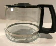 Krups Schott 10 Cup Glass Carafe Coffee Pot Black Replacement