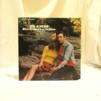 1967 Ed Ames When The Snow Is On The Roses RCA Victor LSP 3913 Pop