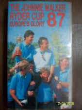 THE JOHNNIE WALKER RYDER CUP 87 EUROPE'S GLORY 1987 Tony Jacklin GOLF VHS VIDEO