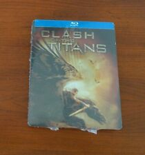 Clash of the Titans Steelbook Limited Edition Blu-ray 2010 Brand NEW sealed