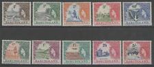 BASUTOLAND SG43/52 1954 DEFINITIVE SET TO 5/= MNH