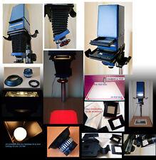 S/W Vergrößerer KB 24x36 bis 6,5 x 9 Objektiv105mm Masken / Zubehör TOP Zustand