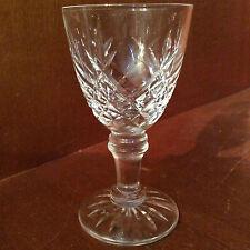 Verre à liqueur H 8,1 cm en cristal de lorraine taille croisillon XIXe  France