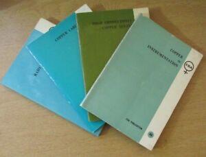 Job Lot of 4 x CDA Publication Books Copper development Association