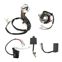 Wiring Loom Ignition Harness CDI Switch Brake Lever Coil Kit Fit for Yamaha PW50