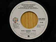 Manfred Mann`s Earth Band 45 You Angel You / Belle Of the Earth ~ WB M-