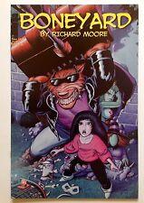 BONEYARD #3 first printing 2001 Richard Moore NBM Publishing Far West