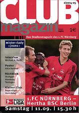 BL 2004/2005 1. FC Nürnberg - Hertha BSC, 11.09.2004