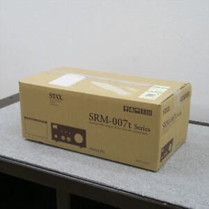 Used SRM-007TA STAX Headphone Amplifier Operation confirmed with BOX power cable